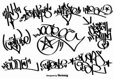 vector graffiti tags free vectors clipart