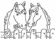 Ausmalbilder Bauernhof Mit Pferden Ausmalbilder Pferdekopf Malvorlagentv