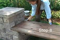 How To Build A Garden Bench Oregon Block