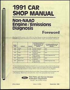 car repair manuals online pdf 1991 mercury capri engine control 1991 mercury capri factory foldout wiring diagram original