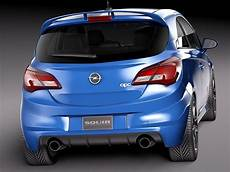 Opel Corsa Opc 2016 3d Model Max Obj 3ds Fbx C4d Lwo