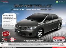 New Toyota Corolla XLi 2013 In Go Metallic  Gun