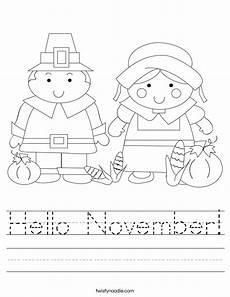 november color by number worksheets 16214 hello november worksheet twisty noodle