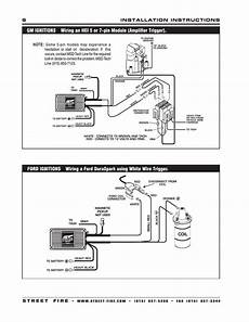 Msd 5520 Ignition Wiring Diagram by Msd Streetfire 5520 Wiring Diagram