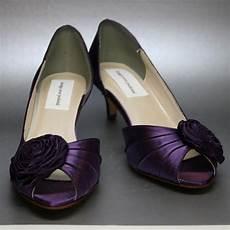 Purple Kitten Heels Wedding