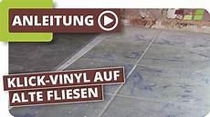 Vinylboden Auf Fliesen Verlegen Planeo Klick Vinyl Youtube
