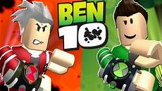 become ben 10 evil ben 10 in roblox