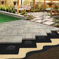 i block pavers for outdoors easier paver patio base that will save your back family