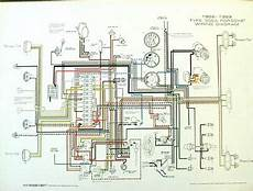 Porsche 174 1956 1959 Wiring Diagram Poster Ynz S 356