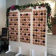 donut wall weddings sydney prop hire inspiration rustic vintage modern doughnut donut wall