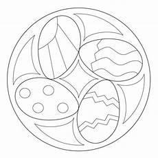 Gratis Malvorlagen Ostern Mandala Osterei Mandala 2 Mandala Ostern Osterei Vorlage