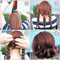 easy bun hairstyle tutorials for the summers