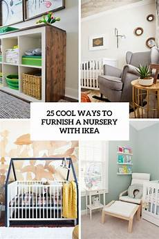 kinderzimmer gestalten ikea 25 cool ways to furnish a nursery with ikea digsdigs