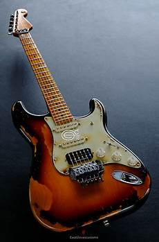 Fender Stratocaster Floyd Classic Hss Sunburst Made