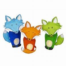 Tiere Basteln Aus Tonpapier Fuchs Basteln