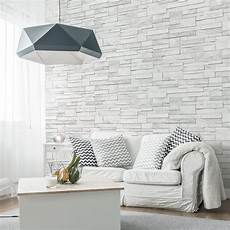 papier peint intiss 233 brique marbre gris leroy merlin