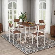 clearance kitchen table and 4 chairs modern metal dining w 1 drop leaf dining table