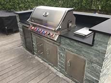 Outdoor Küche Edelstahl - inspiration kleine selbstgebaute freistehende