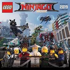 the lego ninjago 2019 wall calendar