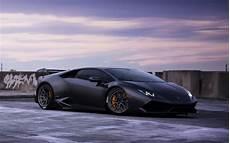 Lamborghini Huracan Wallpaper Black