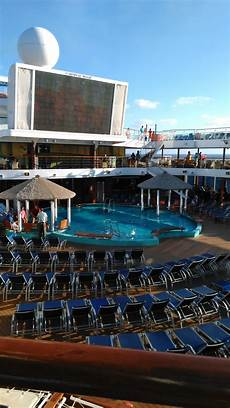 pool spa fitness carnival magic cruise ship cruise critic