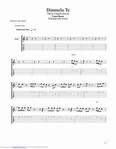 vasco albachiara accordi dimmelo te guitar pro tab by vasco musicnoteslib
