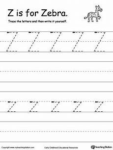 alphabet worksheets for kindergarten a to z free 23438 tracing and writing the letter z writing practice writing practice worksheets writing worksheets