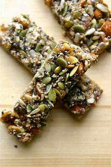 Healthy Seed Bar energy bars healthy portable snacks you can make at home