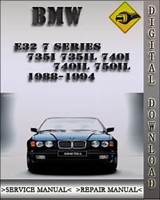 small engine service manuals 1992 bmw 7 series transmission control 1988 1994 bmw e32 7 series 735i 735il 740i 740il 750il factory serv