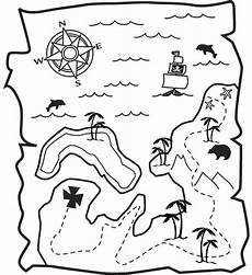 Malvorlagen Map Treasure Map Awesome Treasure Map Coloring Page Awesome