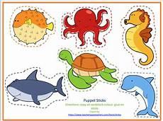 sea animals worksheets for preschoolers 14123 printable quot no prep quot preschool printables