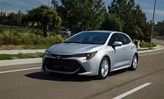 2019 toyota corolla hatchback review boring is out the