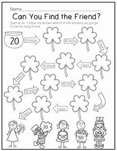 s day worksheets grade 1 20359 st s day printable pack montessori math activities grade themes st patricks theme