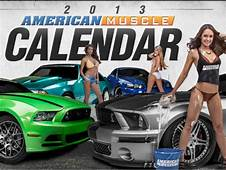 American Muscle  Calender Ford Mustang Modified