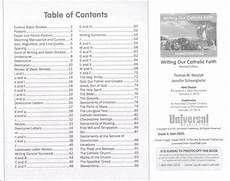 beginning cursive writing grade 3 writing our catholic faith handwriting series universal