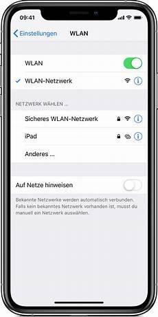 mit wlan verbinden wlan verbindung auf dem iphone oder ipod touch