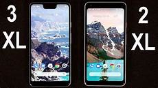pixel xl 2 and original pixel xl compared side by side android community pixel 3 xl pixel 2 xl comparison and conclusion youtube