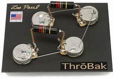 guitar wiring les paul wiring harness throbak 50 s style wiring kit for les paul electric guitars throbak