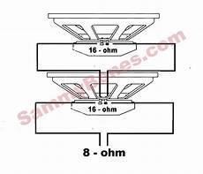 2 speaker 8 ohm wiring diagram