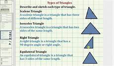 define types of triangles common 3 4 math ex 8