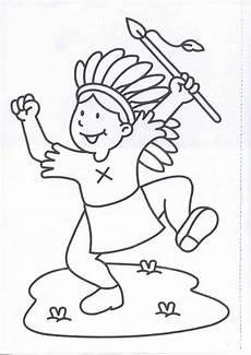 Ausmalbilder Info Indianer Indianer 5 Ausmalbilder вышивка