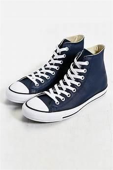 lyst converse chuck all leather high top
