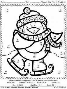 two digit addition math coloring worksheet 54 best images about coloring pages color by code on