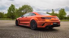 mercedes s63 amg coupe fostla goes all out with prior design mercedes amg s63