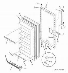 ge upright freezer wire diagram ge freezer parts model fuf17dterwh sears partsdirect
