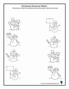 winter matching worksheets for preschoolers 20060 snowman match worksheet winter preschool winter activities for