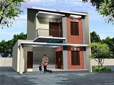 60 Contoh Desain Rumah Minimalis 2 Lantai Sederhana Di
