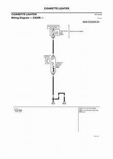 Wiring Diagram For Cigarette Lighter by Repair Guides Electrical System 2004 Cigarette