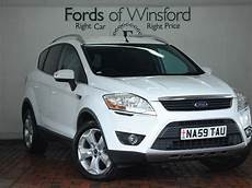 ford kuga 2 0 tdci titanium 5dr 2wd white 2009 in