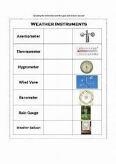 weather instruments worksheets 14579 worksheets weather instruments